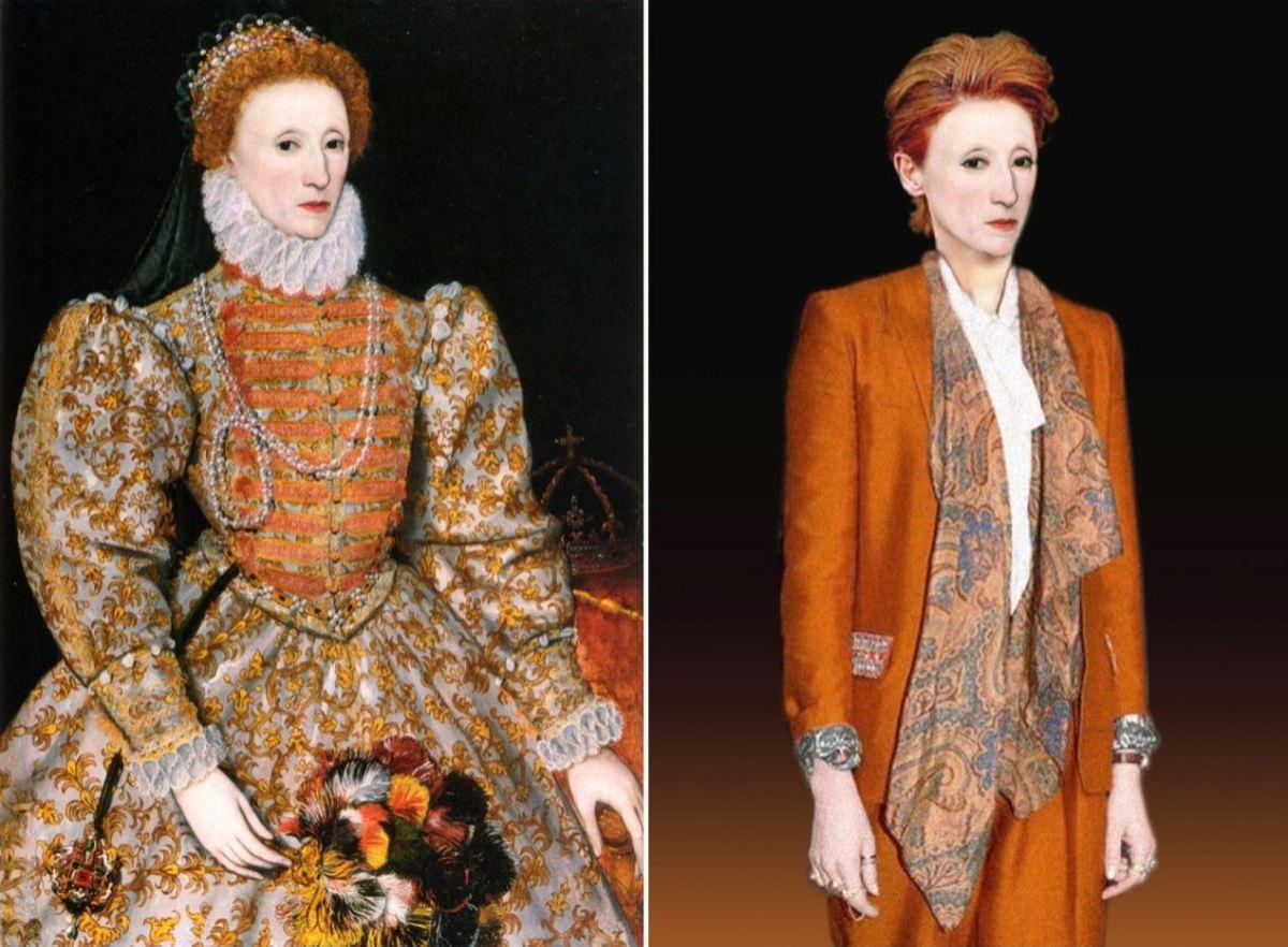 Historische personen in een modern jasje