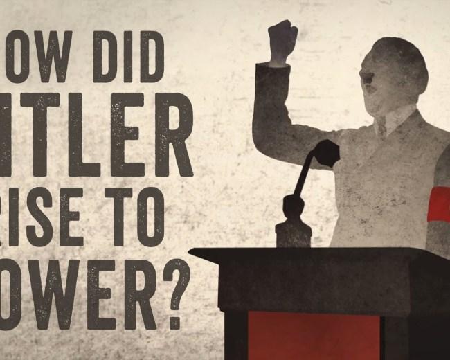 Hoe kwam Adolf Hitler aan de macht? (animatie)