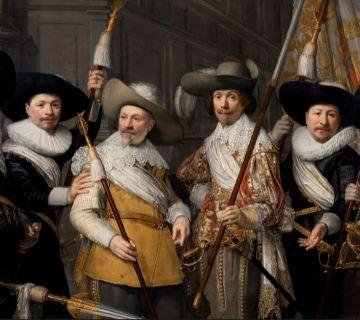 J.A. van Ravesteyn, de Officieren van het Witte Vend ... utterij, 1633. Collectie Haags Historisch Museum