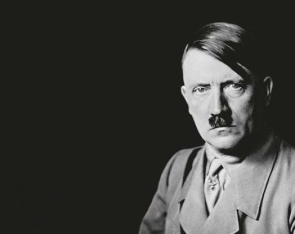 Cover van de biografie van Hitler