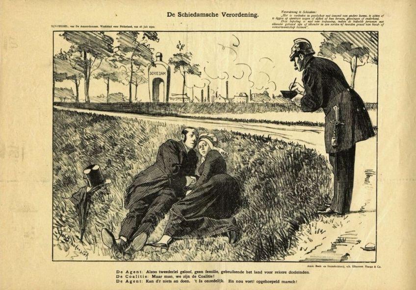 Gemeentearchief Schiedam - Grenzen van fatsoen: pr-fiasco in 1912