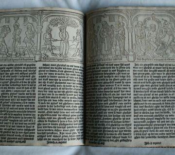 'De Spiegel onser behoudenisse' - Een boek uit 1443?