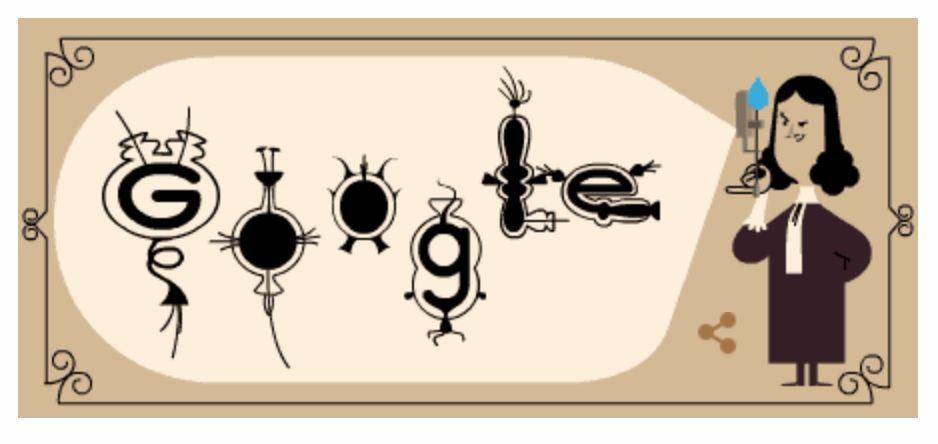 Google eert Delftse uitvinder Antoni van Leeuwenhoek