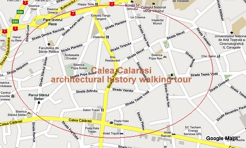 Architectural walking tour Sunday 9 June in Calea Calarasi historic area (3/3)