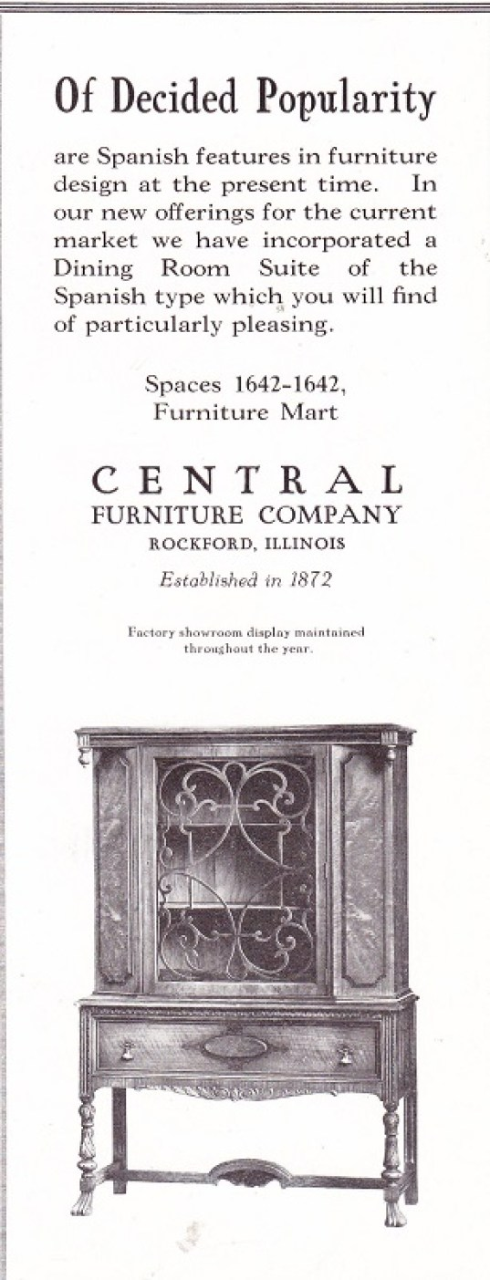 Central Furniture Co Rpl 39 S Local History