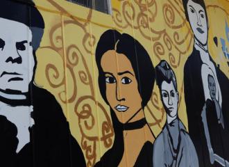 Mural: Historic African American women of Ypsilanti