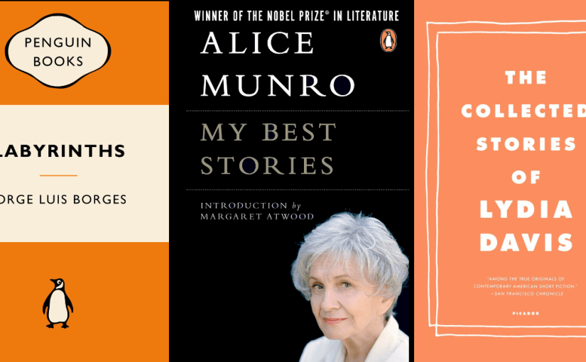 57 Borges, Munro, Davis, Barthelme – All About Short Stories (And Long Ones Too)