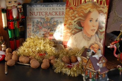 DSC_0001 Nutcracker & books