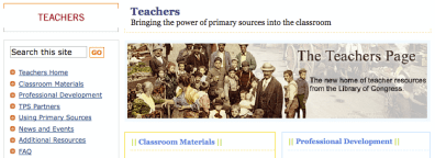 loc teacher page