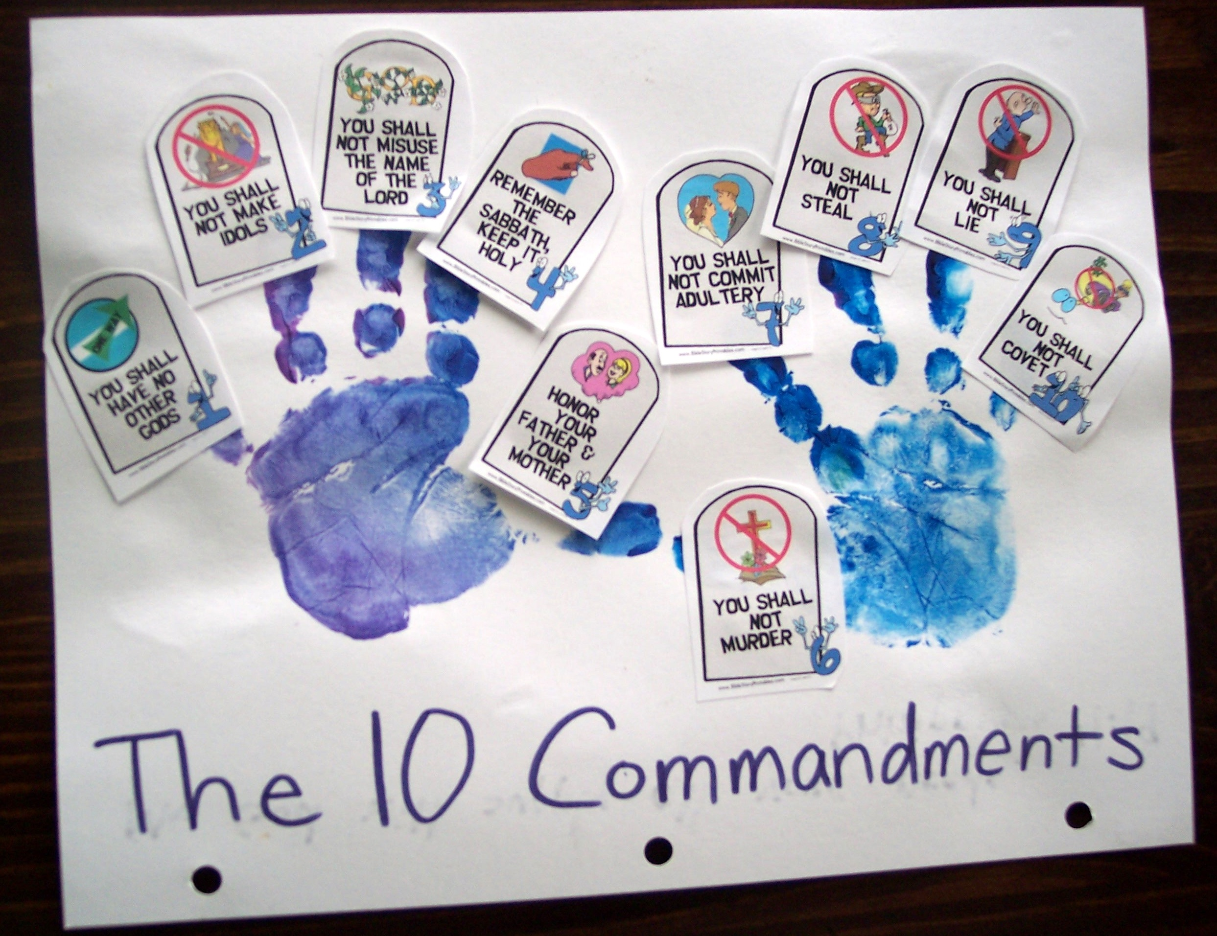 train up a child 10 commandments pt 2 his treasure seekers