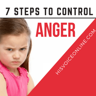 7 steps to control anger