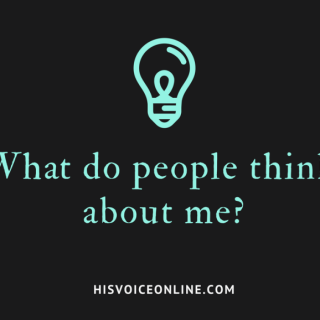What do people think about me-