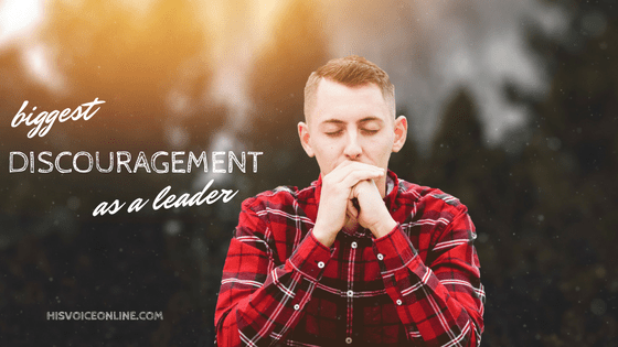 Biggest discouragement Jesus faced as a leader, yet He didn't give up