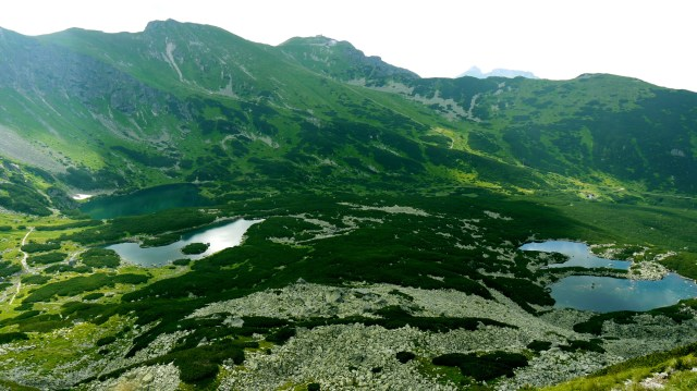 Spectacular views whilsts hiking in the Tatra Mountains, Poland