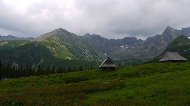 Tatry mountains, Poland (8) – Rocky peaks and wooden huts