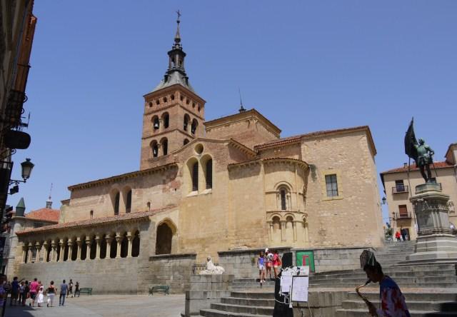 Iglesia de San Martin and Juan Bravo statue - Segovia, Spain (58)