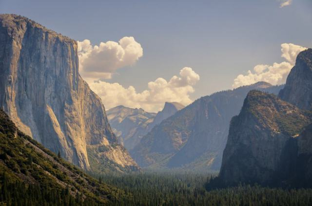 Tunnel view in Yosemite National Park, California, USA - by Brian Hammonds