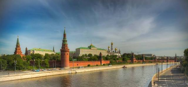 Philip Mills - The Kremlin Moscow, Russia
