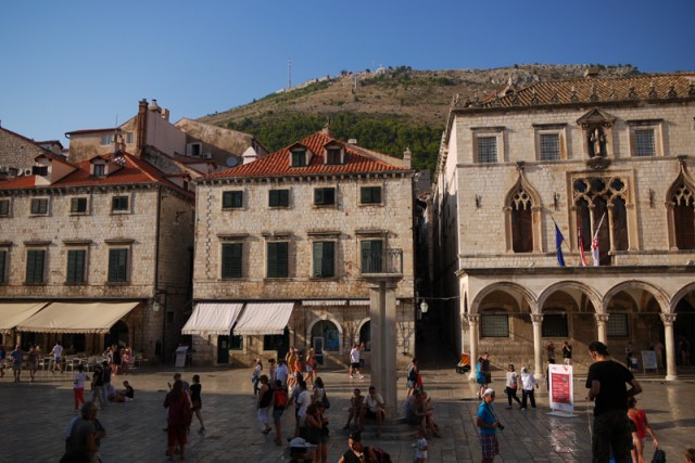 One last bus to the crowds of Dubrovnik Croatia