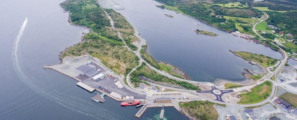 Jøsnøya – et av de største industriprosjekter i Midt-Norge i nyere tid