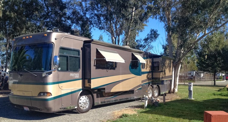 Safari Panther motorhome