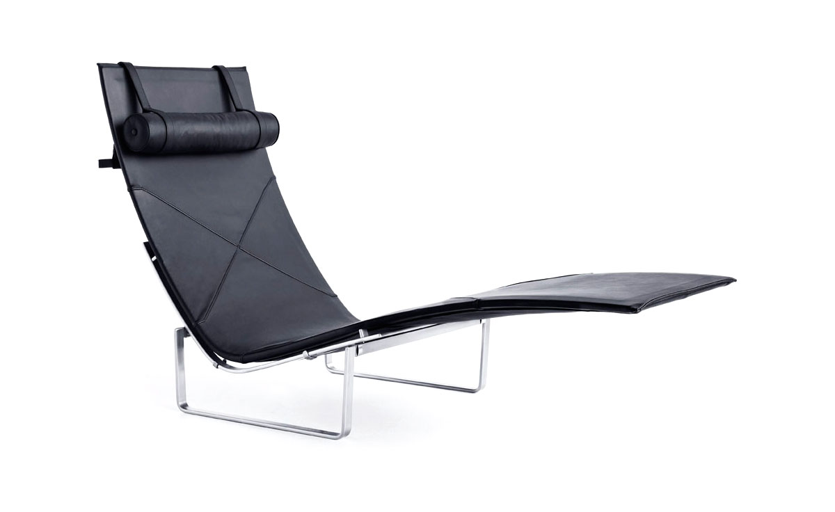 Endearing Pk24 Lear Chaise Lounge Poul Kjaerholm Fritz Hansen 1 Lear Chaise Lounge Suites Nz Lear Chaise Lounge Storage houzz 01 Leather Chaise Lounge