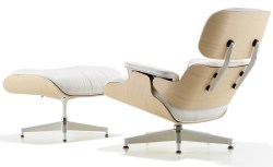 Small Of White Armchair And Ottoman