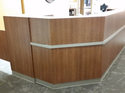 Prairie View Reception desk