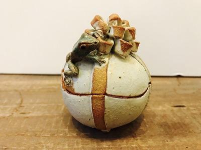 カエルのプレゼント