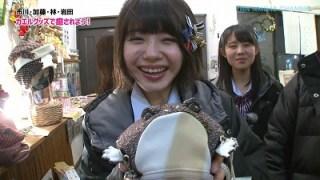 NMB48市川美織さんがカエルに癒される!