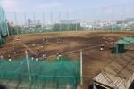 日吉5丁目に近い位置にある慶應日吉台野球場