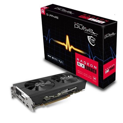 Sapphire RX 570 Pulse 4GB Hynix and Elpida RAM - memshift 1500