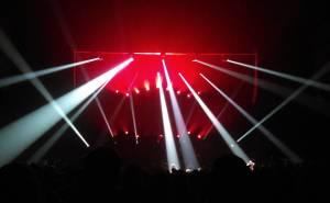 Amazing light show at sufjanstevens tonight! So glad I camehellip