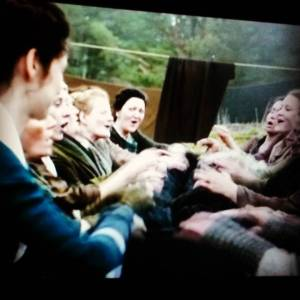 Started watching outlander amp loved this scene of the womenhellip