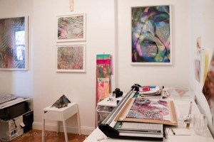 Inside the Art Studio::Lala Abaddon Part I