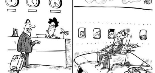 Cheap Airfare Cartoon