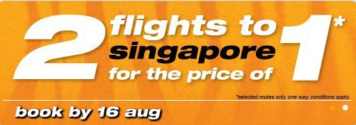 Tiger Air 2 for 1