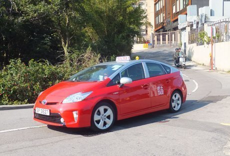 Newer Prius Taxi
