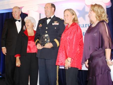 United States Congresswoman Grace Napolitano (Norwalk) and Senator Mary Landrieu from Louisiana greeted hundreds of supporters during a red carpet arrival ceremony that included  senior National Guard leaders, federal, state and local elected officials, corporate and community leaders, and National Guard Youth ChalleNGe Program staff and cadets.