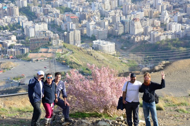 Ivars and his banker friends go out hiking and find the most beautiful bush of Tehran.