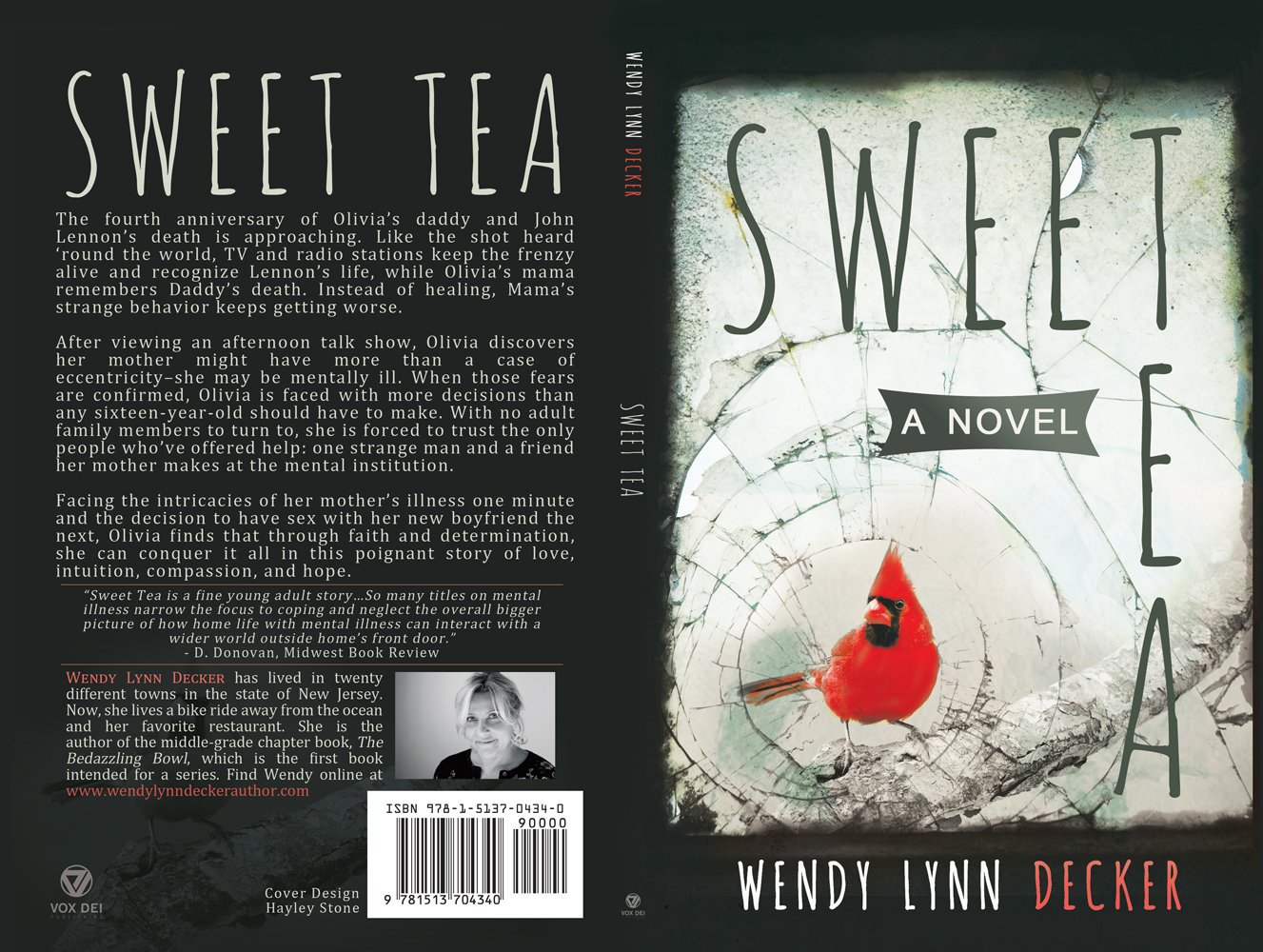 Design book covers online - Sweet Tea