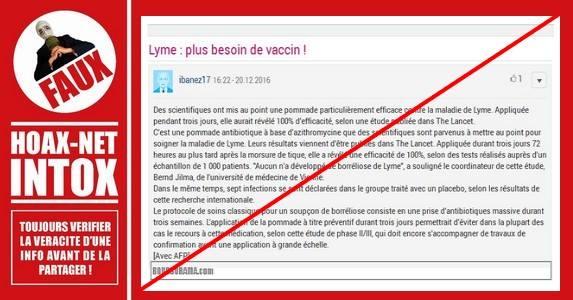 La pommade miracle contre la maladie de Lyme n