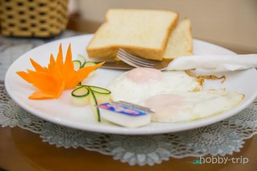 Яйца на очи за закуска