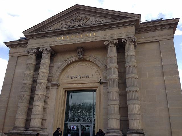 パリ観光ミュージアムパスでオランジュリー美術館へ行く⑥