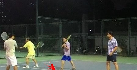 Day tennis co ban o Khuat Duy Tien