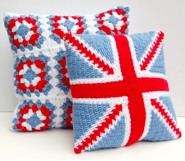 Crochet Pattern Union Jack : Hodge Podge / 10 make and craft ideas: a baby shower fit ...