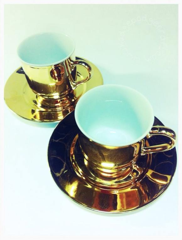 gorgeous teacup & saucers