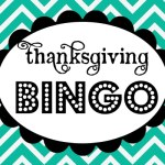 Last-minute free printable: Thanksgiving BINGO!