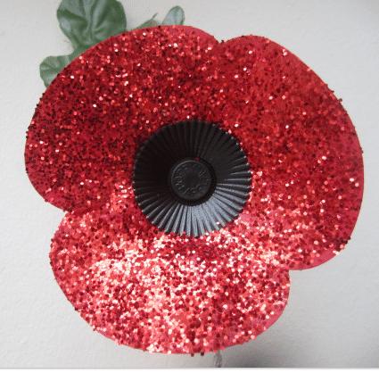 how to make a paper poppy wreath