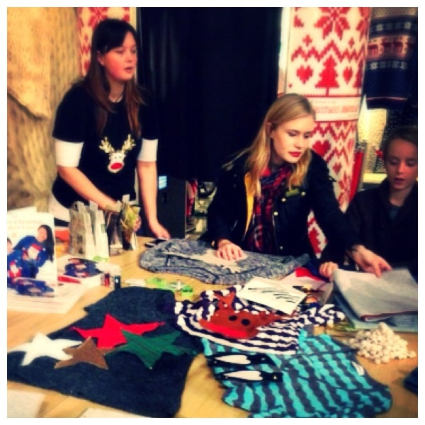 Christmas jumper customisation free workshop